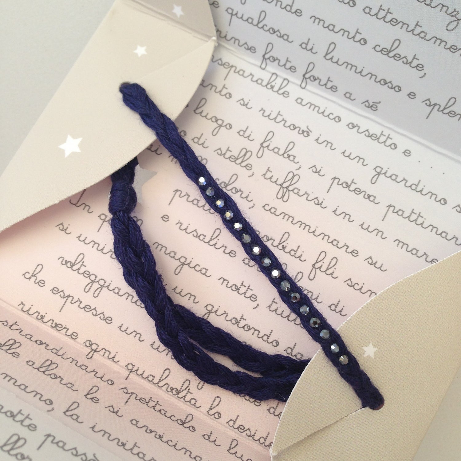 Image of Filo di Stelle 508 - Blue Navy