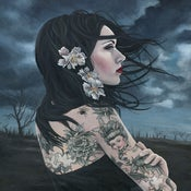 Image of Child of Woe - Embellished Limited Edition Canvas Print 11x14