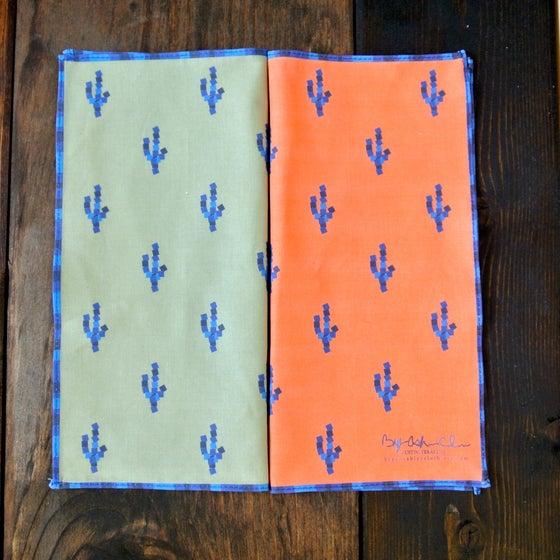 Image of 8-bit Cactus Pocket Square