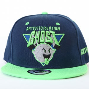 Image of Ghost Tri  Snapback - Navy