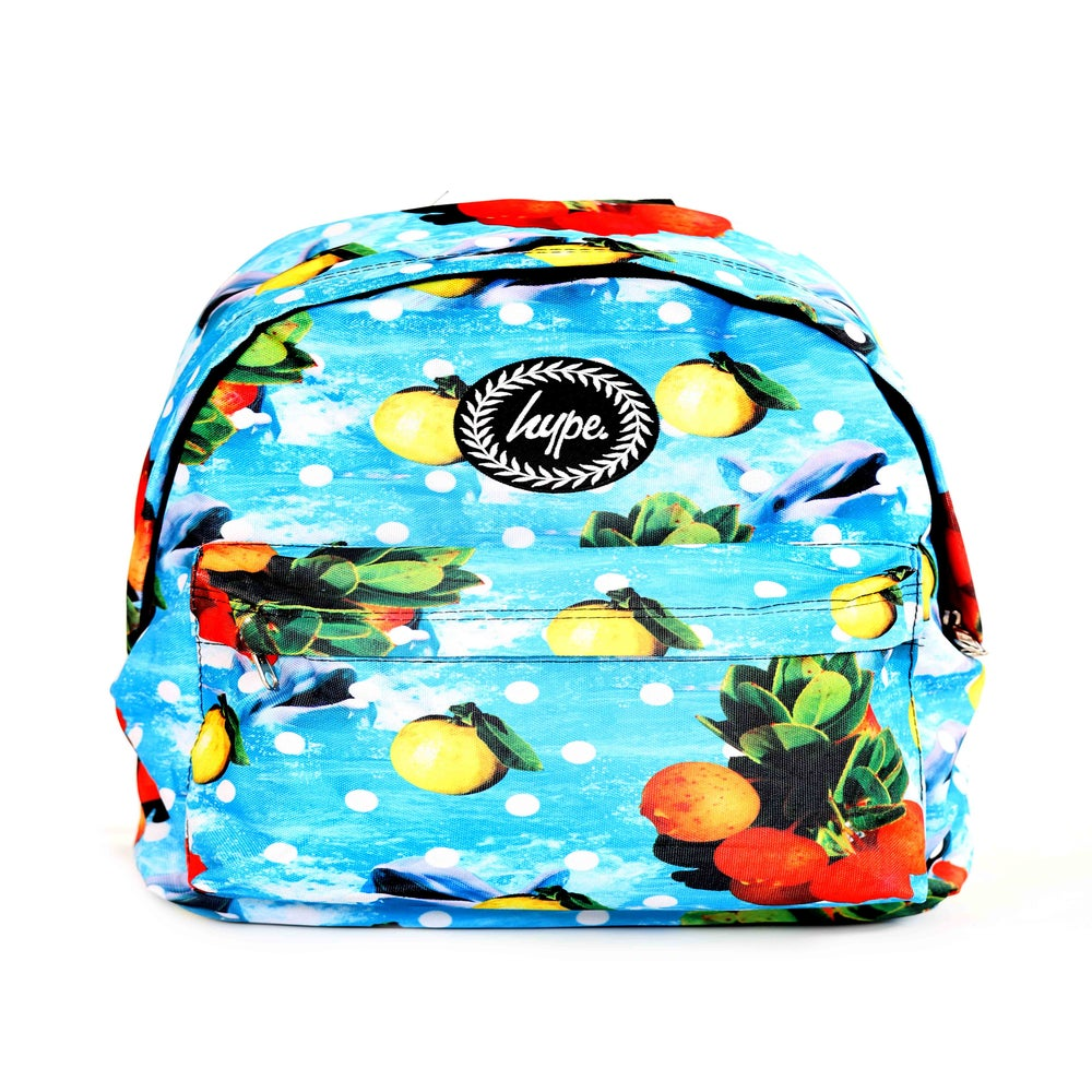 Image of HYPE. DOLPHIN FRUITS BACKPACK