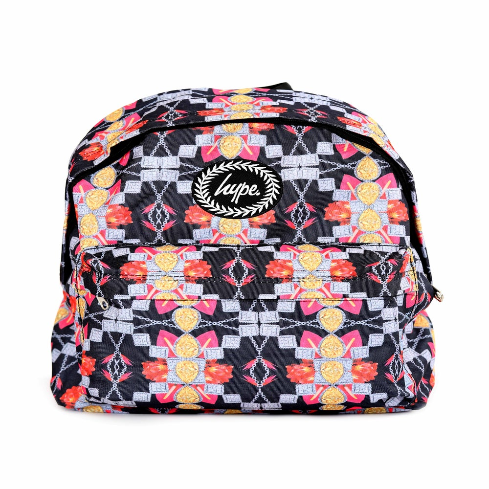 Image of HYPE. FLORAL JEWELS BACKPACK