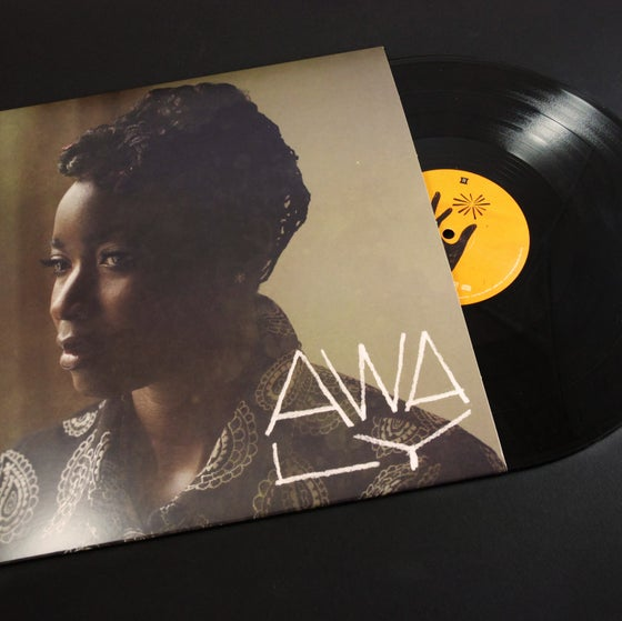 Image of AWA LY - EP -  Vinyl 33RPM - 4 TRACKS - limited edition + Download Card