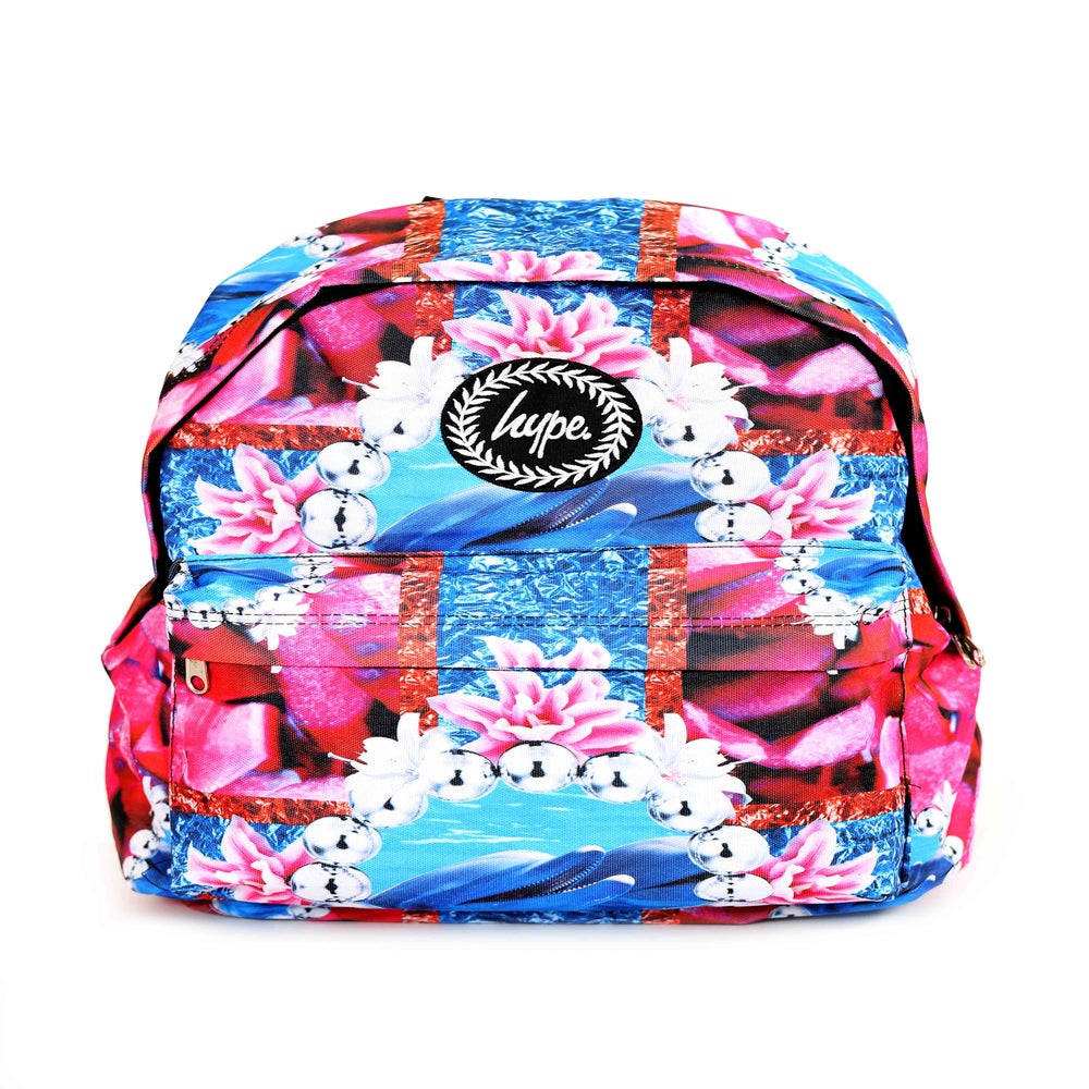 Image of HYPE. RHUBARB DOLPHIN BACKPACK