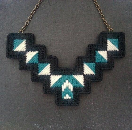 Image of Grey 'Geo' Necklace