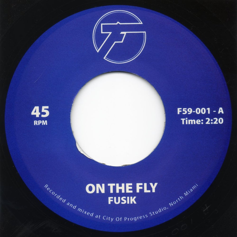 """Image of On The Fly / Battlefield - 7"""" Vinyl"""