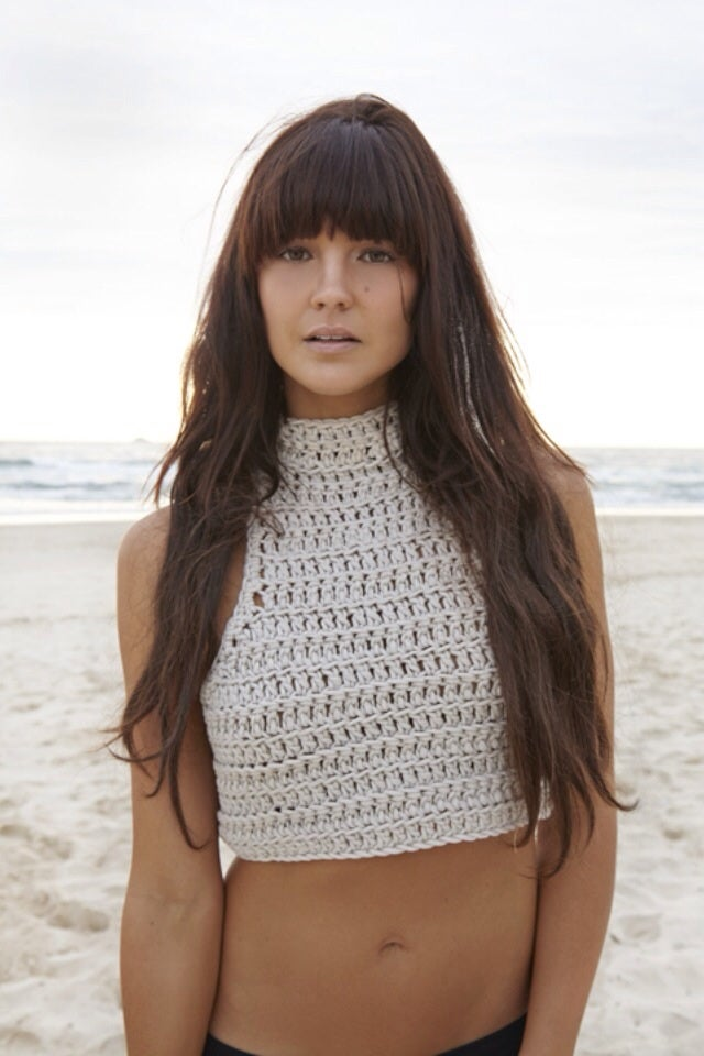 Image of Hamptons Crochet Crop