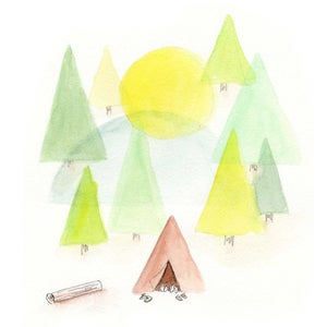 Image of Our Tent Art Print
