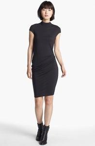 Image of Helmut LANG -black nova jersey dress
