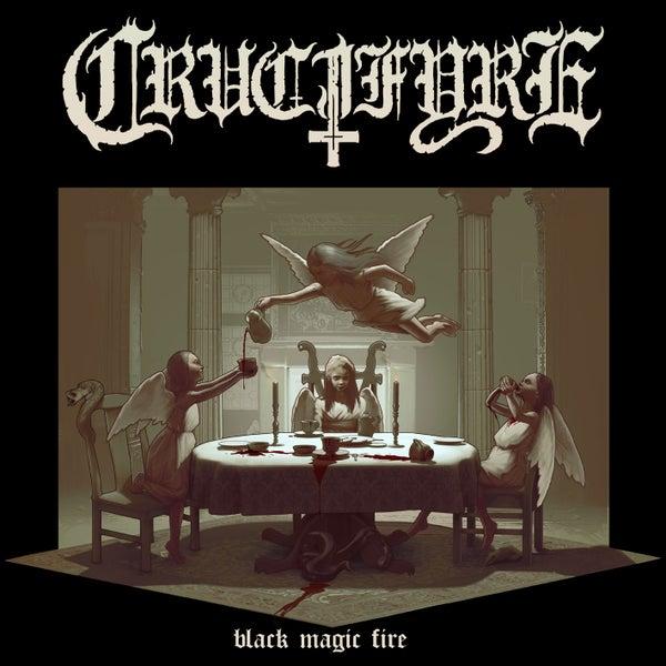 "Image of CRUCIFYRE ""Black Magic Fire"" CD"