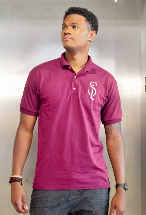 Image of Maroon SL Polo