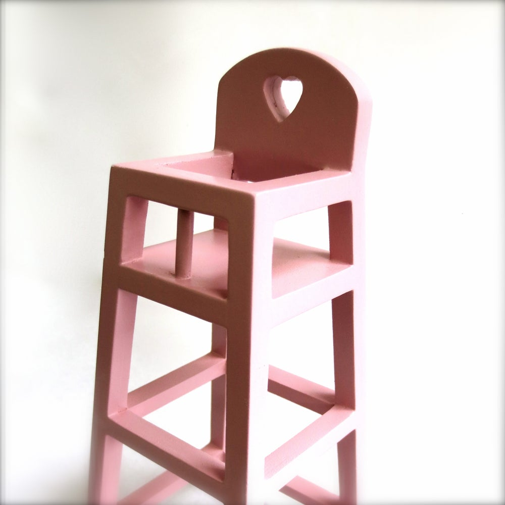 Image of Mini High Chair For Baby Mouse