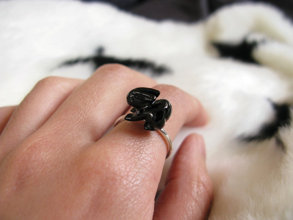 Image of Midnight Bunny Ring