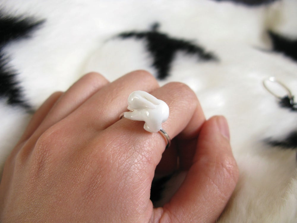 Image of Snow Bunny Ring