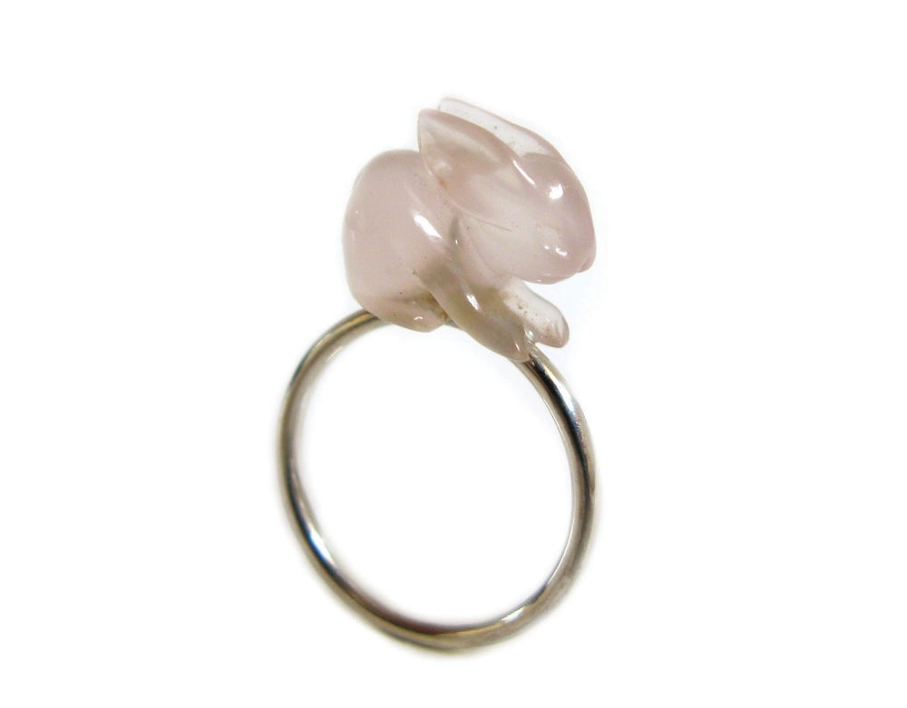 Image of Rose Bunny Ring