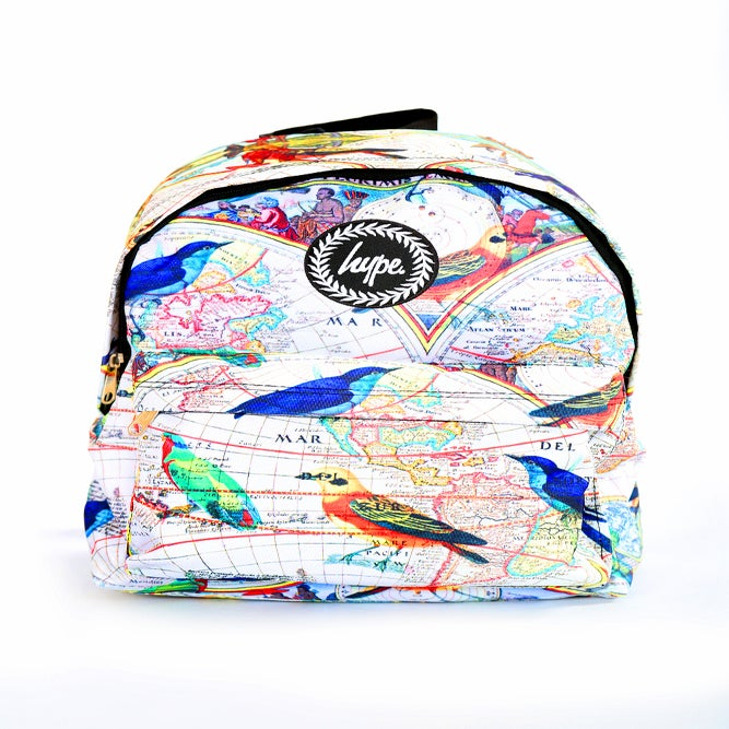 Image of HYPE. VINTAGE BIRDS BACKPACK