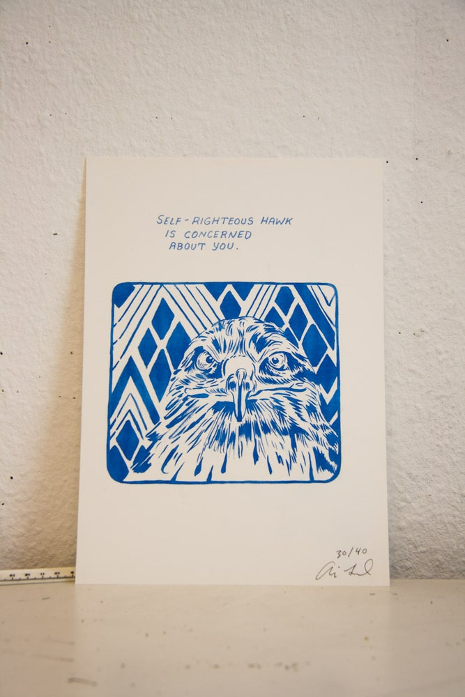 """Image of Limited Edition """"Hungover Bear and Friends"""" Prints//Concern"""