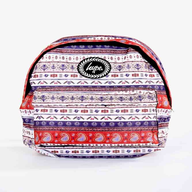 Image of HYPE.PAISLEY BACKPACK