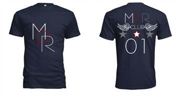 Image of MPR Navy blue tee