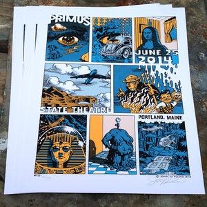 Image of John Pound Primus Poster