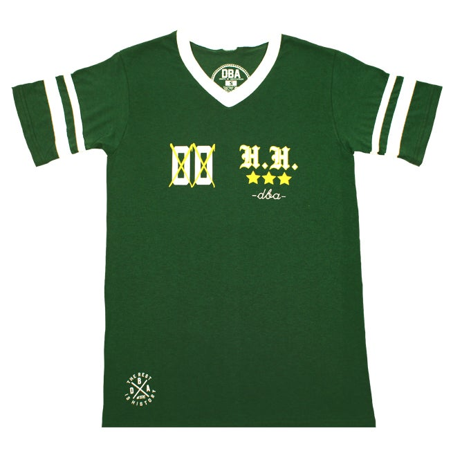 Heavy Hitters - Oakland A's Inspired Jersey Tee