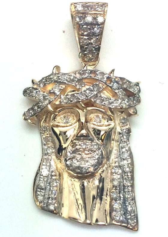 "Image of Micro ""Corona de Espinas"" Full set Jesus Piece"
