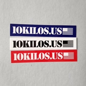 Image of 10KILOS.US Sticker pack (3)