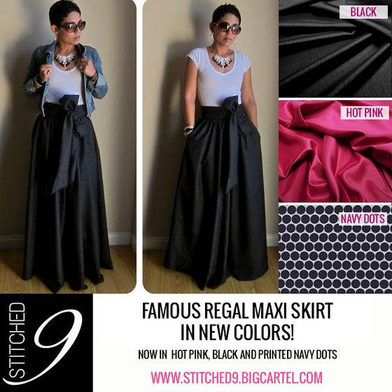 Image of Mimi G's Regal Maxi Skirt w/Sash
