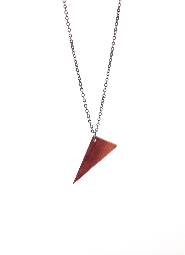 Image of Right Triangle Necklace
