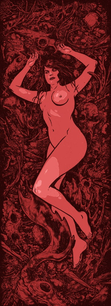 "Image of 'Fertility' 12"" x 36"" Screen Printed Poster"