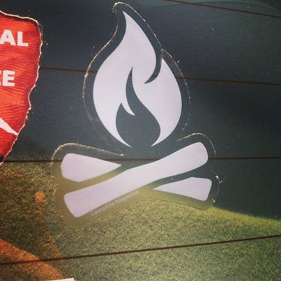 Image of Campfire Decal