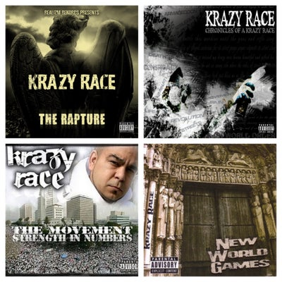 Image of Krazy Race Autographed CDs (4 Albums To Choose From)