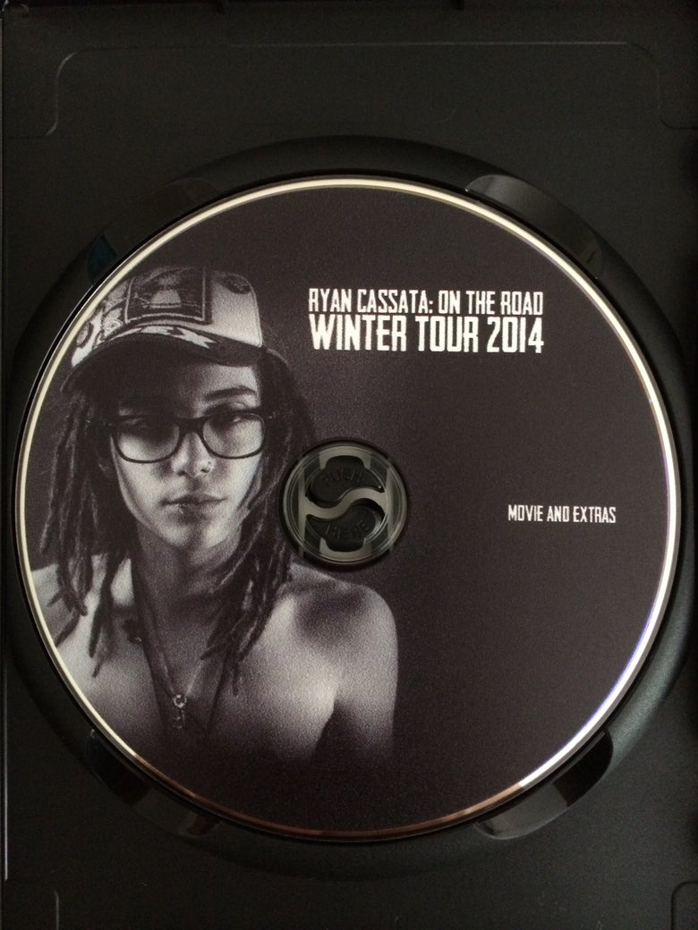 Image of ON THE ROAD: WINTER TOUR 2014 DVD