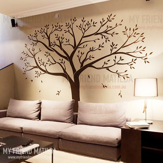 Family Photo Tree Removable Wall Decals Stickers By My