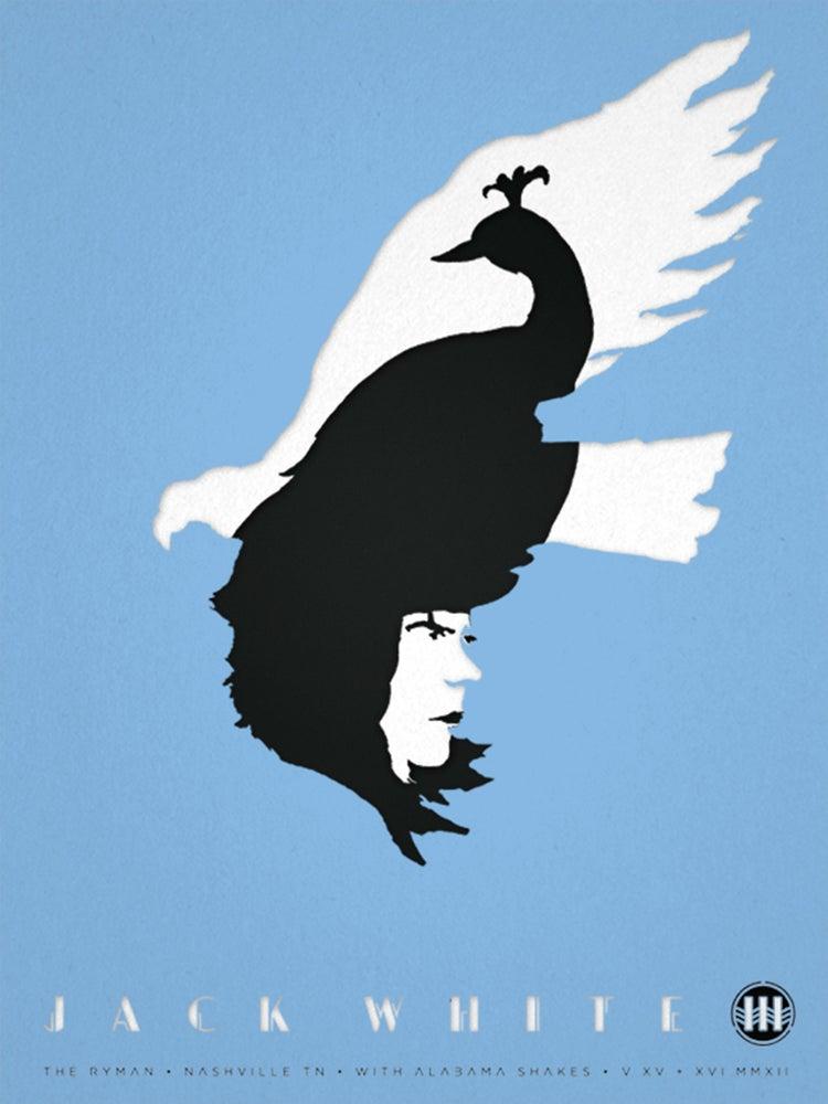 Image of Jack White. Triple Decker Poster Set.