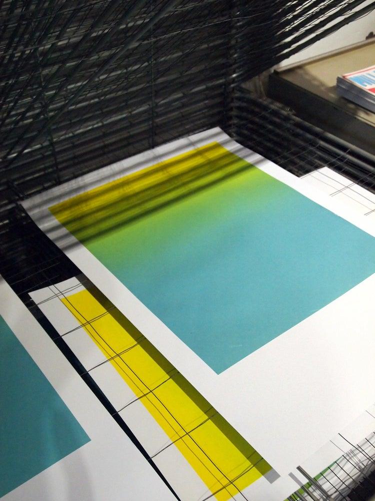 Image of farbverlauf - kunstdruck