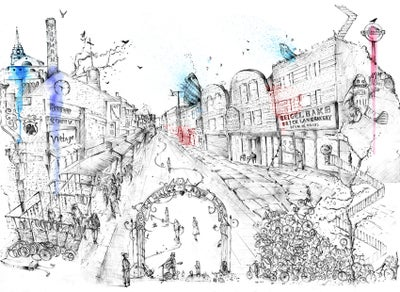 Image of Brick Lane - Limited Edition Print