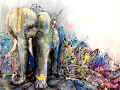 Image of Maximus - Elephant Print