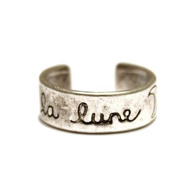 Image of 'LA LUNE' MIDI/PINKY RING