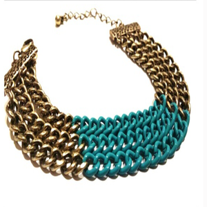 Image of Bronze & Teal Bracelet