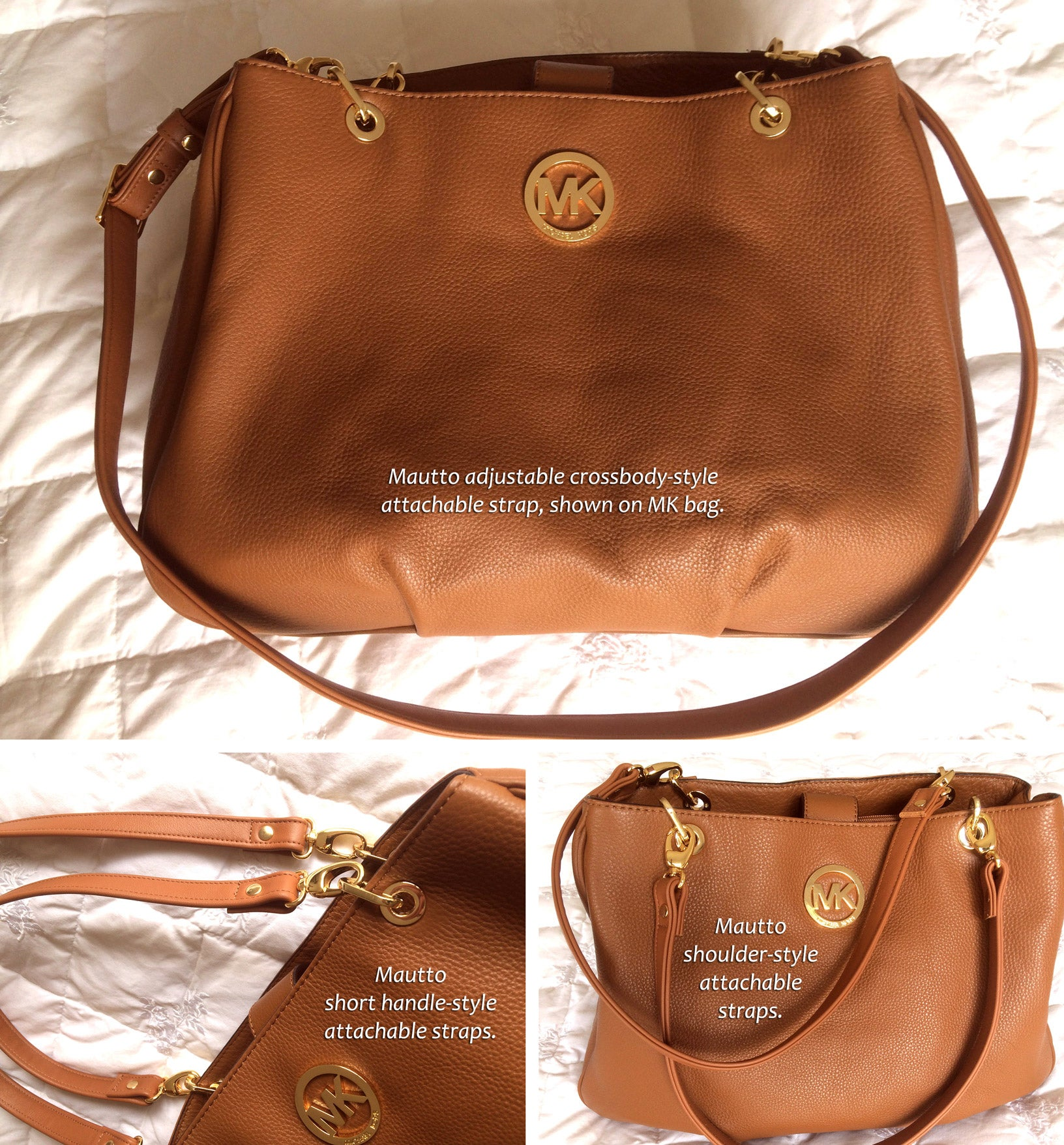 ... Handles for Michael Kors (MK) Handbags/Purses zoom. Prev