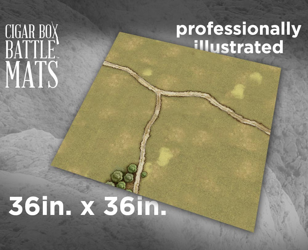 Image of Grassland Gaming Battle Mat - 3x3 - #115