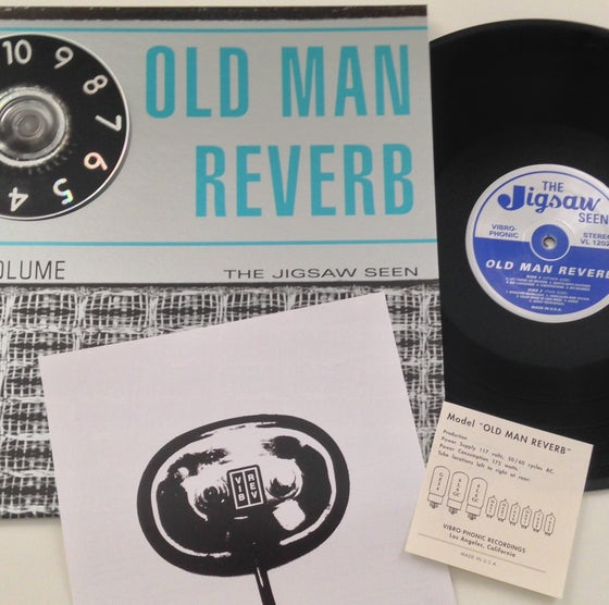 "Image of ""Old Man Reverb"" LP + CD"
