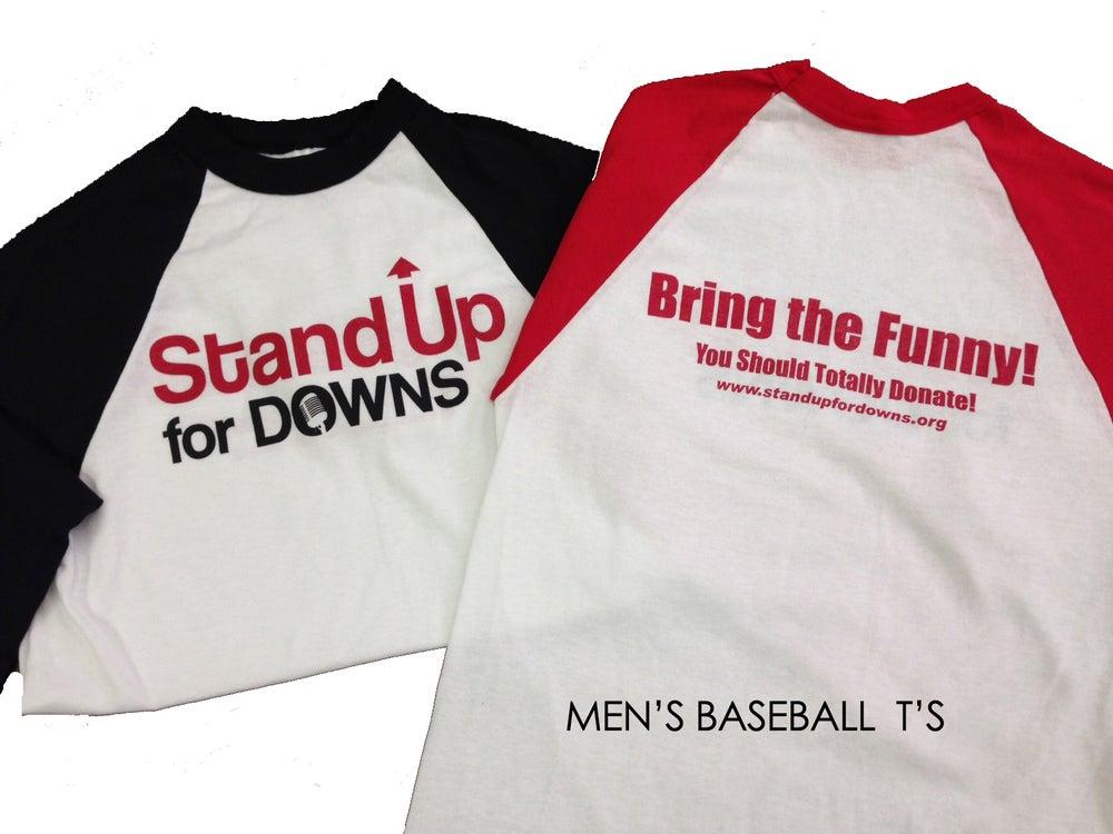 Image of Mens Baseball T-shirt's