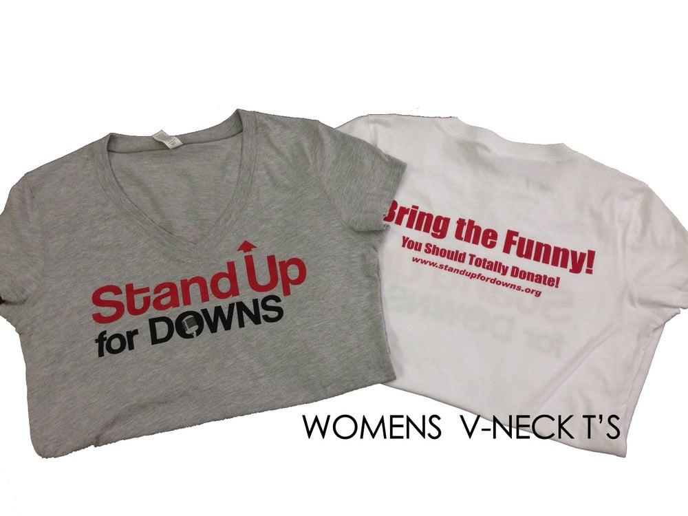 Image of Womens V-Neck T's