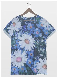 Image of Forget-Me Floral Tee