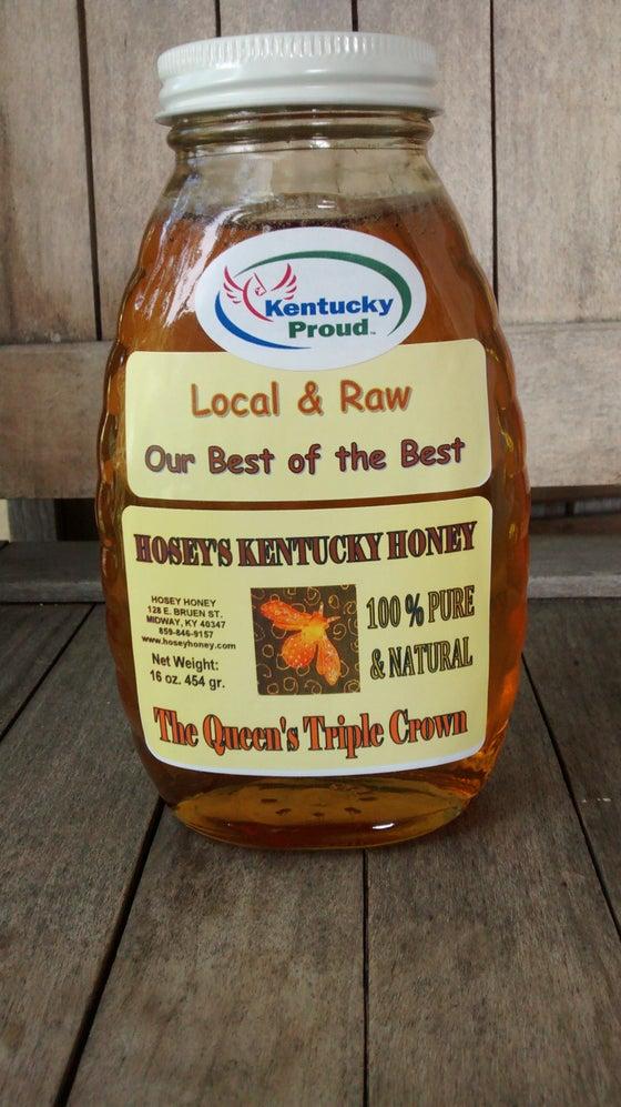 Image of Queen's Triple Crown Honey (Hosey Honey) 1 lb
