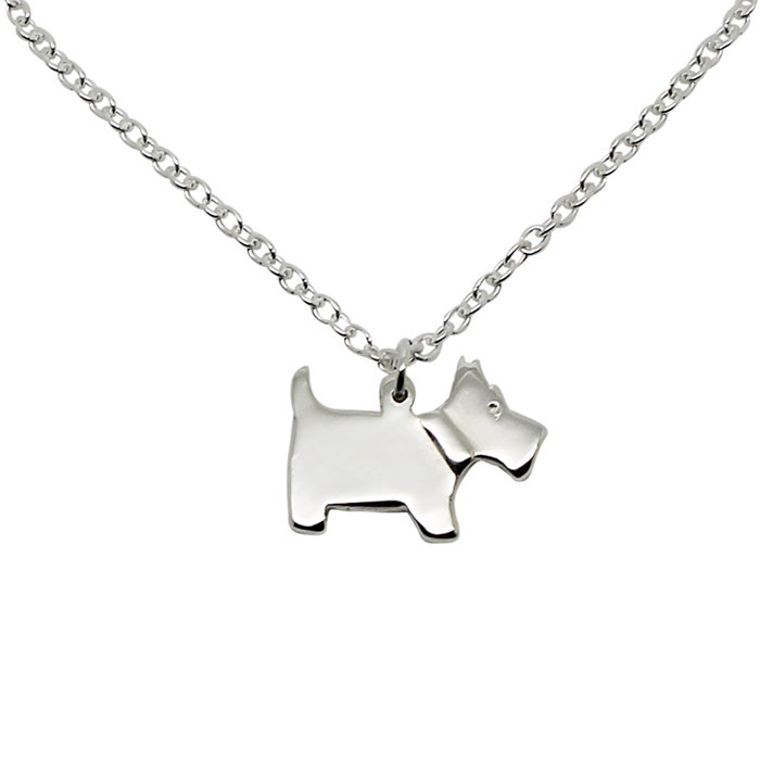 Image of SCOTTIE DOG NECKLACE