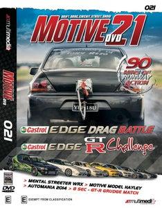 Image of Motive DVD #21 - 2014 Motive DVD Drag Battle and GT-R Challenge