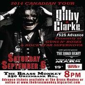 Image of GILBY CLARKE (ex GUNS N' ROSES) - Saturday, September 6, 2014 @The Brass Monkey